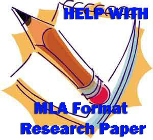 Citations for research paper mla